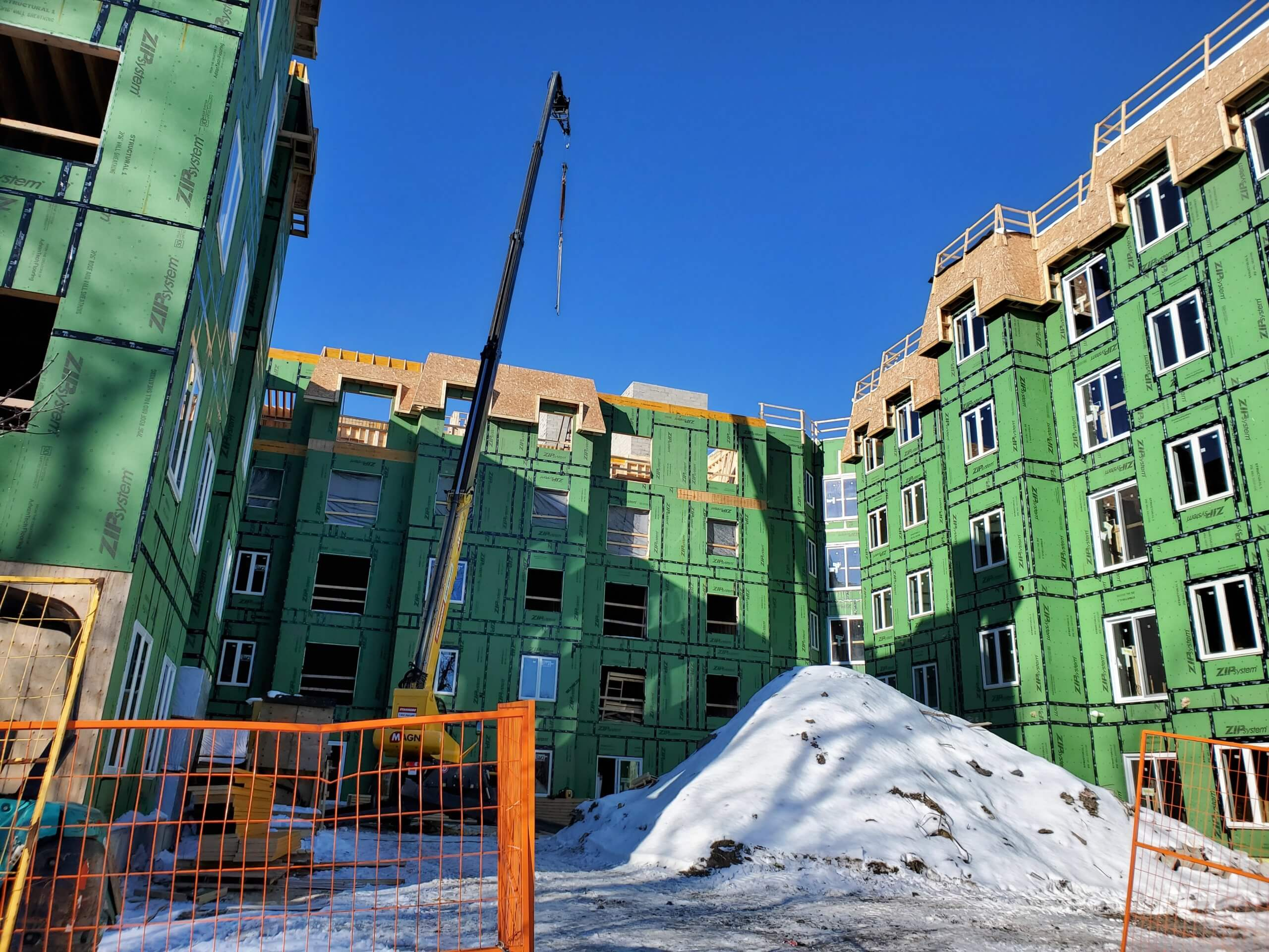 Image of The Frontenac Condos Construction Progress